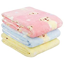 Uber World Sherin and Polywool 3 Piece Baby Bath Towel – Multicolor