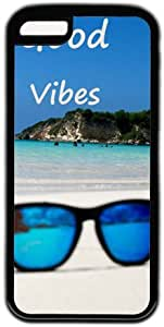 Beach Background Good Vibes Theme iphone 6 plus Case