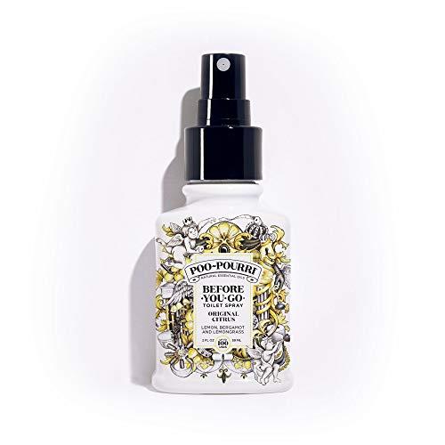 Popular Scents - PooPourri BeforeYouGo Toilet Spray 2 oz Bottle, Original Citrus Scent