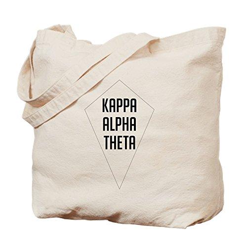 CafePress Canvas Alpha Bag Tote Bag Diamond Shopping Natural Kappa Theta Cloth pw4ArFqp