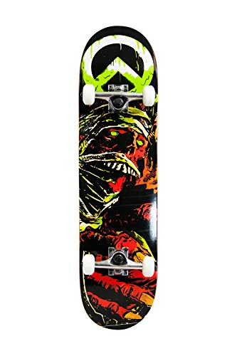 SCSK8 Pro Skateboard/Crusier Pre-Assembled Complete (The Mummy)