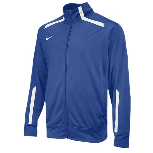 NIKE SWIM Men's Overtime Warm Up Jacket, Royal (494), XL