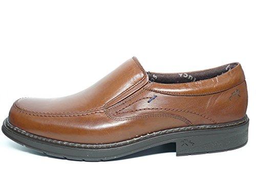 Zapatos hombre tipo mocasín FLUCHOS - Piel color Marron - 9483 - 81 (40, marron)