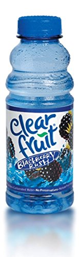 - Clear Fruit Blackberry Rush 20 Oz (24 Pack)
