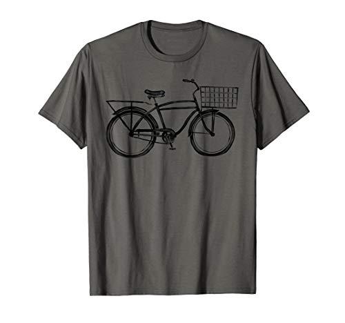 Retro Bike T-Shirt Vintage Beach Cruiser Bicycle Cool Gift