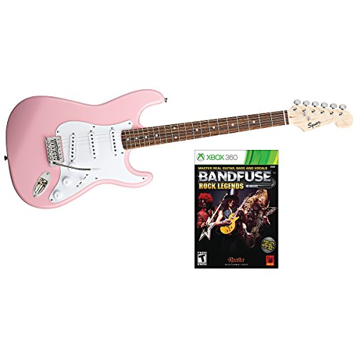 Squier Bullet with BandFuse: Rock Legends Pink XBOX 360 (Pink XBOX on