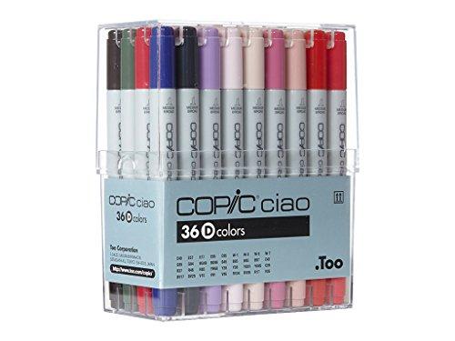 Copic Ciao Marker Pen 36 Colour Set D]()