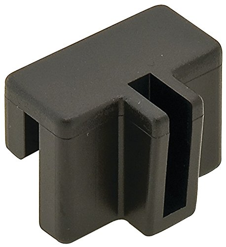 Rail Clip, for Hanging File System 10pc Plastic, black