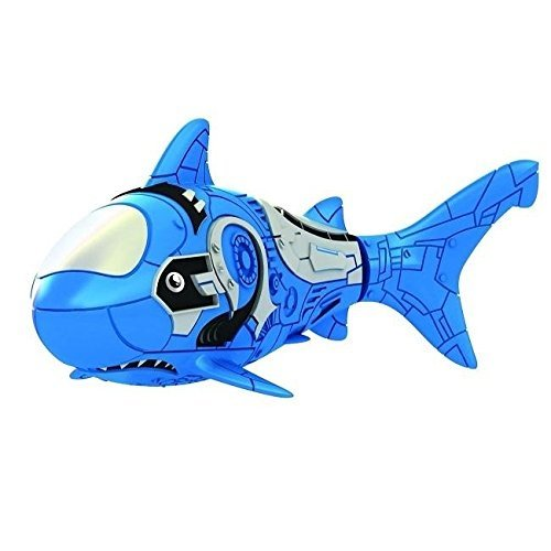 robo fish blue shark - 4