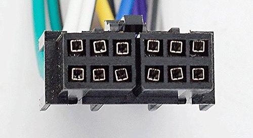 tcc-series 12-pin femmina / carav 15/ /104/autoradio ISO cavo Bardatura per LG / ISO stereo radio cavo adattatore spina cavo connettore del cablaggio alcuni modelli 20/x 7/mm GOLDSTAR