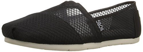 Skechers BOBS from Women's Luxe Fashion Slip-On Flat