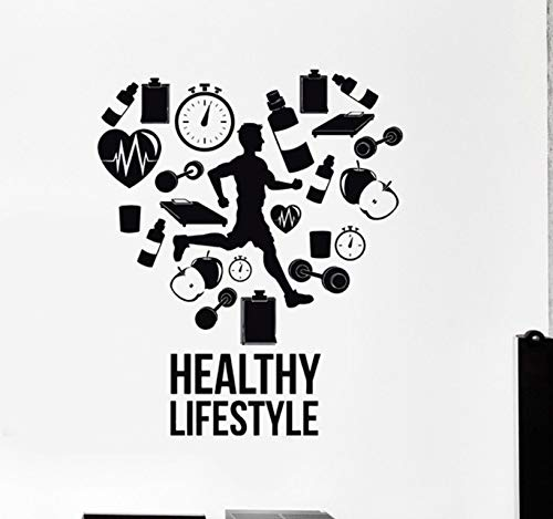 Dalxsh Healthy Lifestyle Wall Decals Run Runner Wall