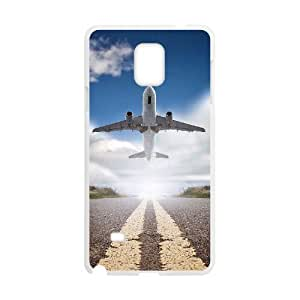 Airplane Takeoff Discount Personalized Cell Phone Case for Samsung Galaxy Note 4, Airplane Takeoff Galaxy Note 4 Cover by runtopwell