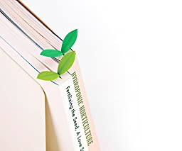 Fred SPROUT Little Green Bookmarks, Set of 6