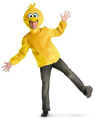 Disguise Mens Deluxe Street Big Bird Sesame Theme