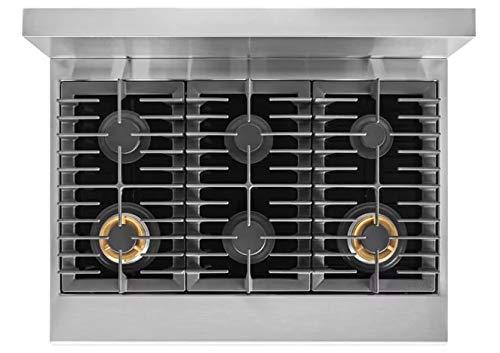 Amazon.com: Electrolux e36df76tp 36 inch de ancho 6,4 Cu. Ft ...