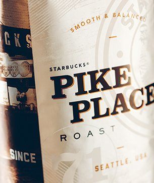 Starbucks Decaf Pike Place Roast Whole Bean Coffee (1lb)