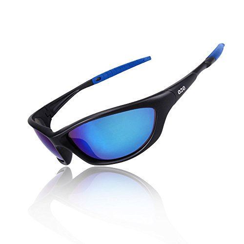 O2O Top [Polarized] Sports Sunglasses [Tr90] [Superlight Weight] Frame [for the Most Comfortable and Fit all Day Long] for Men Women Teens Youth Driving Baseball Cycling Fishing Golf - Sport Top Sunglasses