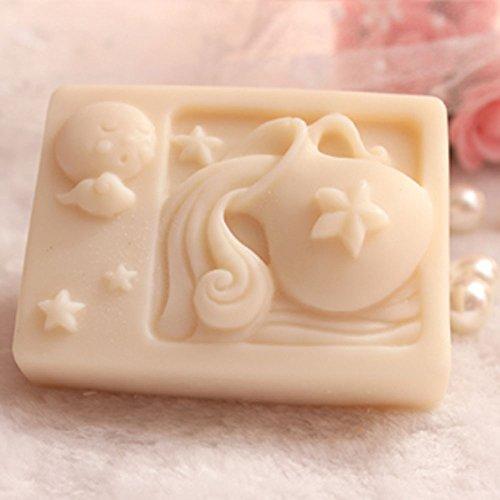 - Grainrain Rectangle Mould Silicone Handmade DIY Molds Soap Craft Art mold Zodiac Aquarius