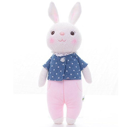 Me Too Tiramitu Stuffed Bunny Dolls Plush Rabbit Toys Easter Gifts Decorations 12 Inches (Stuffed Easter Rabbits)