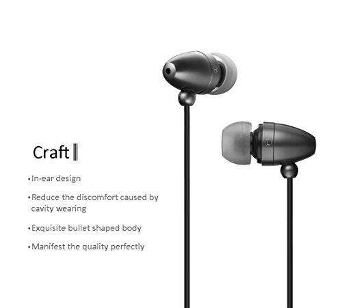 In-ear Stereo Earbuds Noise Isolating Headphones with Mic for iPhone and Android