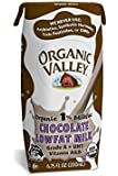 Organic Valley, Organic 1% Low Fat Single-Serve Chocolate Milk, 6.75 oz, 24 ct