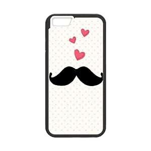 "Lycase(TM) Mustache Customized Phone Case, Mustache Iphone 6 4.7"" Protective Case"