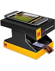 KODAK Mobile Film Scanner – Scan & Save Old 35mm Films & Slides w/ Your Smartphone Camera – Portable, Collapsible Scanner w/ Built-In LED Light & FREE Mobile App for Scanning, Editing & Sharing Photos