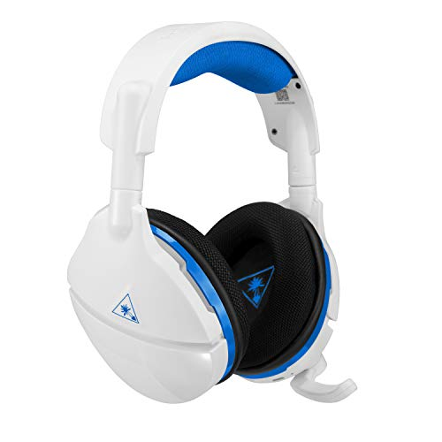 (Turtle Beach Stealth 600 White Wireless Surround Sound Gaming Headset for PlayStation 4 Pro and PlayStation 4)