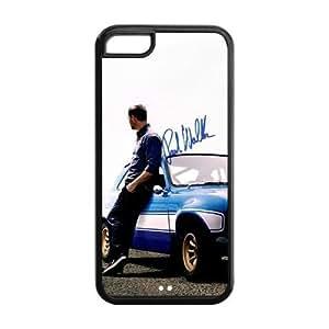 Popular Movie Paul Walker in fast furious 6 Apple Iphone 5C Case Cover TPU