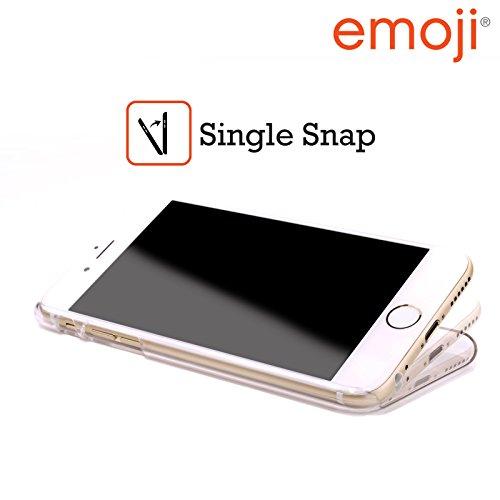 Officiel Emoji Smileys Modèles Pleins Étui Coque D'Arrière Rigide Pour Apple iPhone 4 / 4S