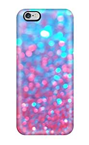 DVQcgKE16757zHKUb Case Cover Pretty Pink And Blue Pattern iphone 6 plus Protective Case
