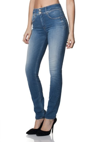 SALSA Jeans Push In Secret con pierna pitillo Azul