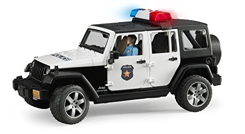 Review Jeep Rubicon Police car