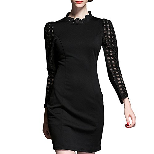 Pinkyee CLAK0231872 - Vestido Negro