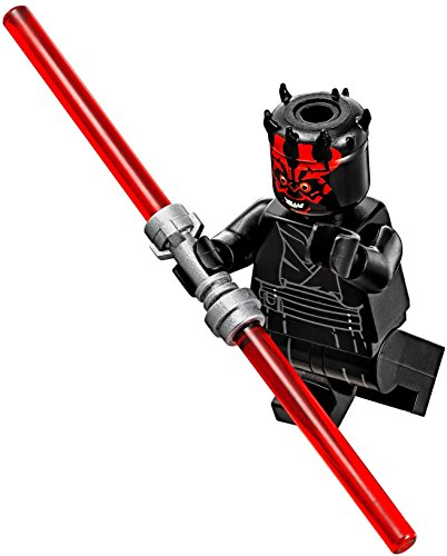 Lego Star Wars  The Phantom Menace   Darth Maul Minifigure With Double Lightsaber 2017