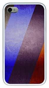 meilz aiaiiphone 4S thin cases patterns abstract parallax 68 TPU White for Apple iPhone 4/4Smeilz aiai