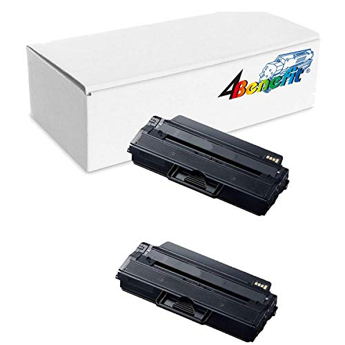 (2Pack Samsung MLT-D115L High Capacity Black New Compatible Mono Toner Cartridge)