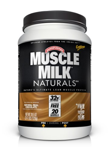 CytoSport Muscle Milk Naturals, Natural Real Chocolate, 2.47 Pound