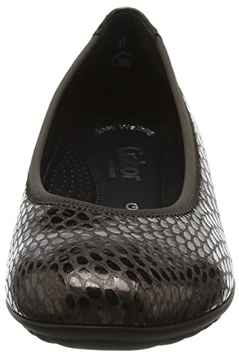 Gabor Womens Splash Casual Shoes Grey (Anthrazit) Bsopa