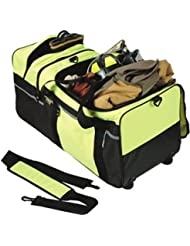 Hi-vis Large Wheeled Turnout Gear Bag