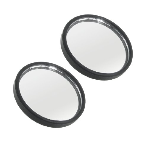 """Vehicle Adhesive Wide Angle Round Rearview Blind Spot Mirrors 2"""" 2 Pcs"""