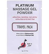 Eroticgel Premium Massage Gel Powder– 5g Travel Sachet Makes 500ml/ 16.9 fl oz – Made in Japan – ...