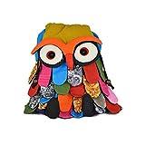 Dconfident Owl Backpack Preschool Bag Toddler Cute Lunch Bag Cartoon Shoulder Bag