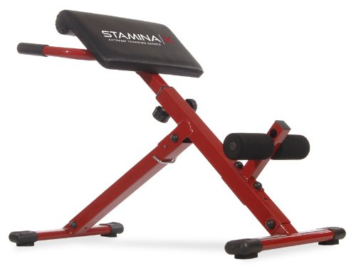 Stamina Hyper Bench, Red (Machine Hyperextension)