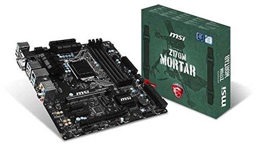 Photo - Bundle: MSI Z170M MORTAR + Core i5 6500 (4 x 3.2GHz) + 32GB DDR4 2133MHz Memory
