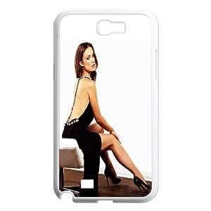 Samsung Galaxy N2 7100 Cell Phone Case White Beautiful Olivia Wilde SU4315692