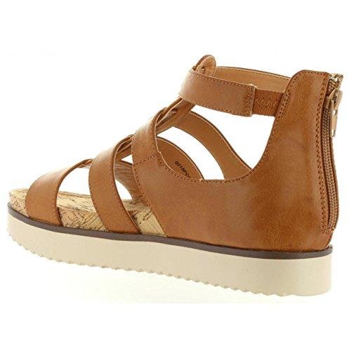 Sandalias de Mujer MTNG 53486 C24883 STAR CUERO