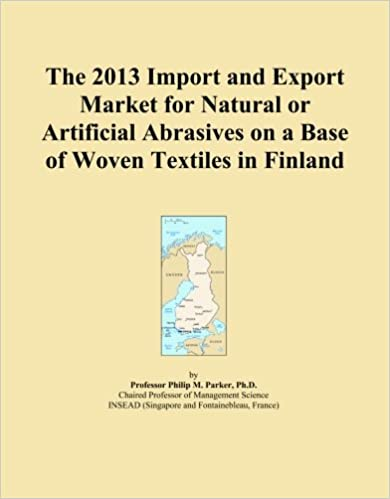 Book The 2013 Import and Export Market for Natural or Artificial Abrasives on a Base of Woven Textiles in Finland