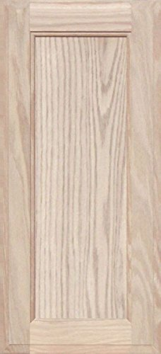 Unfinished Oak Square Flat Panel Cabinet Door by Kendor, 22H x 10W by Kendor